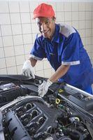 Hva forårsaker løftere i en motor å gå dårlig?