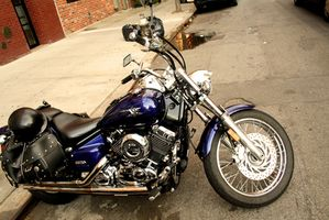 Hvor å lapp en motorsykkel Cover