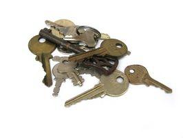 Hvordan kan jeg få nye nøkler laget for en Mercedes?