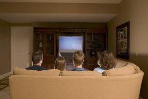 JVC 56-tommers bakside-prosjektering TV spesifikasjoner