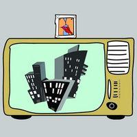 Hvordan kan jeg bruke en 20-tommers skjerm som TV?