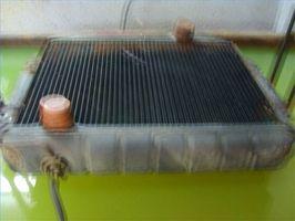 Hvordan å reparere en bil Radiator Core