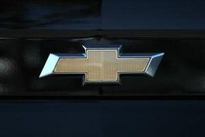 Tilbakestille en Chevrolet datamaskin