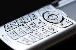 Bruke ris på våt mobiltelefoner
