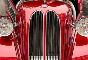 Historien til bilen maling