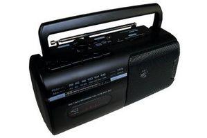 Trekke en forsterker til en Radio med en RCA-kontakt