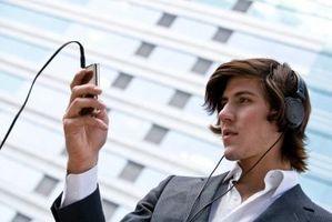 Slik eksporterer Outlook-kontakter til en iPod