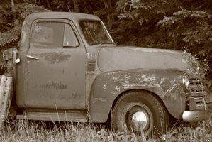 Hvordan finne verdien av klassiske lastebiler