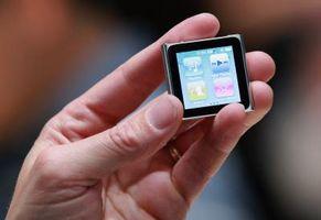 Tilbakestille et passord for en iPod Nano
