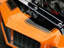 Chevy 350 V8 spesifikasjoner