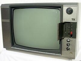 Hvor å kvitte seg med gamle fjernsynsapparater