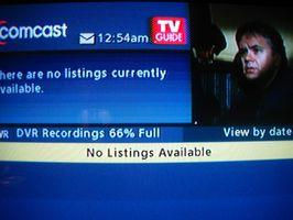 Comcast DVR vs Tivo