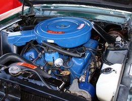 Chevy lastebil Fan Clutch fjerning