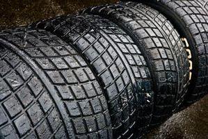Hva størrelse hjul bør du bruke med en 11.50 brede dekk?