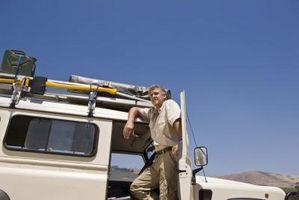 Fjerne AC Clutch i en Jeep