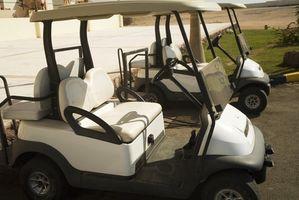 Hvordan å dekorere en Golf Cart
