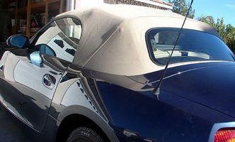 Hvordan å opprettholde en cabriolet Top
