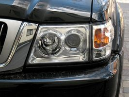 Hvordan aktivere 2003 VW Passat tåke lys