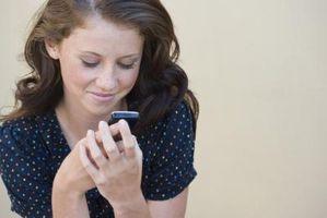 Hvordan slette tapt anrop-symbolet på en BlackBerry Pearl skjermen
