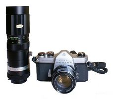 Hvordan velge en kombinasjon Film og digitalt kamera
