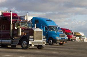 Hvordan forbedre drivstoff kjørelengde på Semi lastebil