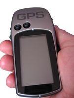 Bruke en håndholdt GPS-enhet mens oppdrett