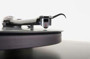 Hvordan å reparere en lyd platespiller