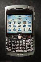 Slik endrer du en mobil signatur melding på en BlackBerry