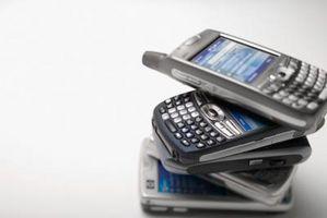 Starte en frossen BlackBerry Smartphone