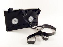 Hvordan konvertere VHS til DVD med HP DVD 1040E