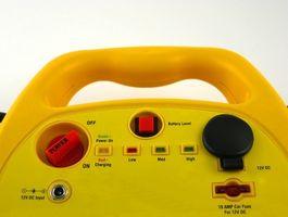 Lading instruksjoner for en dyp syklus batteri