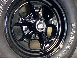 Hvor å mål tilbake avstand på en bil hjulet