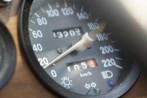 Hvordan endre en Speedometer Gear