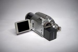 DIY trådløs LCD-skjerm for et videokamera