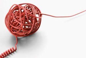 Hva kabler kan brukes for telefonlinjer?