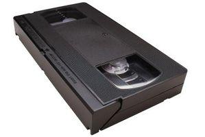 Hvor å fastsette Gummed opp VHS-kassetter