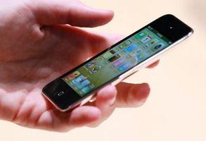 Hvordan finne mappen Logg på en iPod Touch