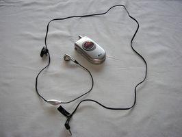 Hvordan kan jeg bruke mobiltelefon øret knopper?