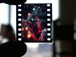 Tips om skanning mørke 35MM lysbilder