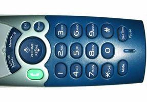 Hvor å slukke snakker ringer på en Panasonic
