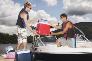 DIY skum & glassfiber båten for