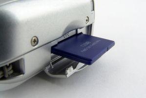 Forskjeller mellom kompakt glimtet & SD minnekort
