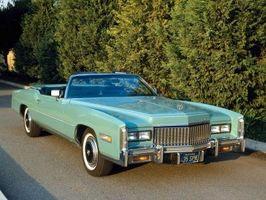 Liste over Cadillac-modeller