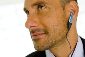 Bruke et kabelbasert headsett med en BlackBerry 8100