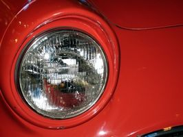 Hvordan endre en frontlys på passasjersiden i en Beetle