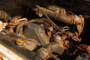 Hvor å sette på en Mazda 626 serpentin beltet