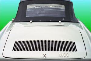 Hvordan fjerne riper fra cabriolet bil plast Vinduer