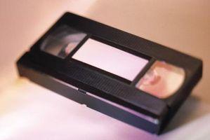 Typer av VHS-kassetter