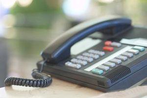 Avaya telefon instruksjoner