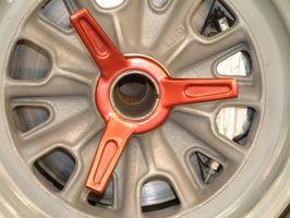1964 ford Falcon hjulet eller Rim Breddeforskyvning & spesifikasjoner